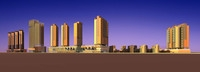 Architecture 292 High Rise Residential Building 3D Model