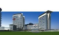 Architecture 300 office Building 3D Model