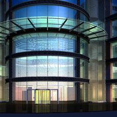 Architecture 301 Hotel Building 3D Model