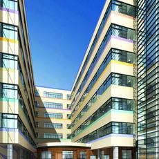 Architecture 336 office Building 3D Model