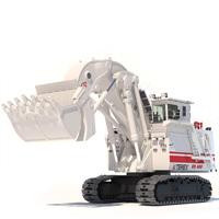 Excavator TEREX O&K RH400 3D Model