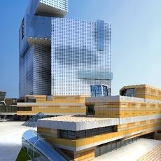 Architecture 358 office Building 3D Model