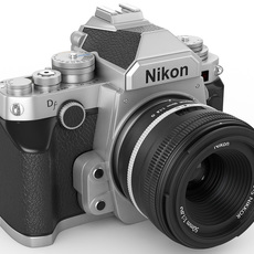 Nikon DF digidal camera 3D Model