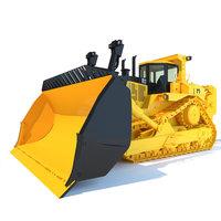 Bulldozer D11 3D Model