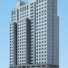 Architecture 376 office Building 3D Model