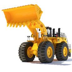 Wheel Loader 994F 3D Model