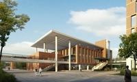 Architecture 033  - School building 3D Model