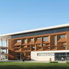 Architecture 034  - School building 3D Model