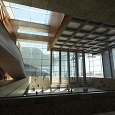 Lobby 151 3D Model