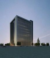 Architecture 397 office Building 3D Model