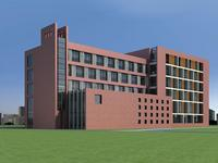 Architecture 400 office Building 3D Model