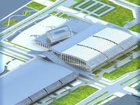 Architecture 405 Station Building 3D Model