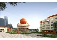 Architecture 423 office Building 3D Model