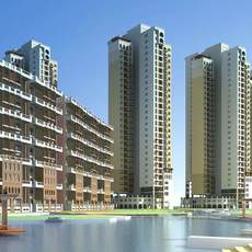 Architecture 447 High Rise Residential Building 3D Model