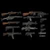 Free Guns Pack ( Free ) 3D Model