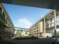 Architecture 038  -School building 3D Model