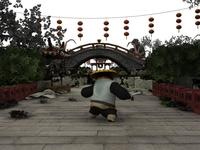 Ancient Architecture -Kong fu Panda 3D Model
