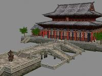 Ancient Architecture 004 3D Model