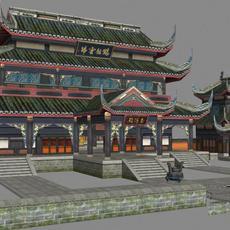 Ancient Architecture 006 3D Model