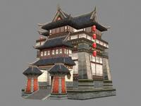Ancient Architecture 009 3D Model