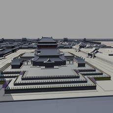 Dadu City Site of Yuan Dynasty 1 3D Model