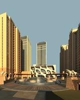 Architecture 469 High Rise Residential Building 3D Model