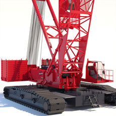 Crawler Crane Manitowoc 16000 3D Model