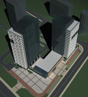 Architecture 480 office Building 3D Model