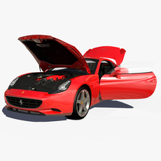 Ferrari California 2010 3D Model