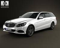 Mercedes-Benz E-Class estate (W212) 2014 3D Model