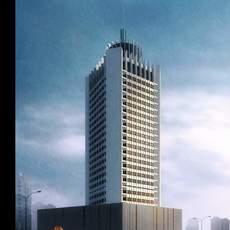 Architecture 503 Hotel Building 3D Model