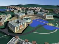 Architecture 506 Commercial Building 3D Model