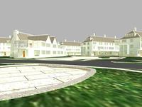 Architecture 508 Villa Building 3D Model