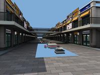Architecture 507 Commercial Building 3D Model