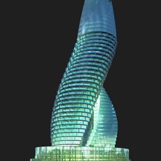 Architecture 511 Hotel Building 3D Model