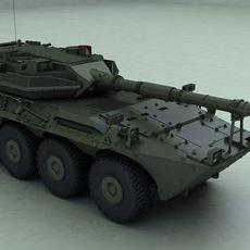 Centauro8x8 3D Model