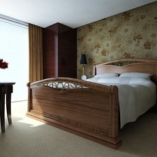 interier 32 bedroom 3D Model