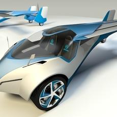 Aeromobil 3.0 3D Model