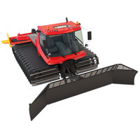 Snowcat PistenBully 600 Snowplow 3D Model