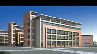 Architecture 531 office Building 3D Model