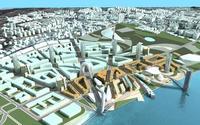 Architecture 543 office Building 3D Model