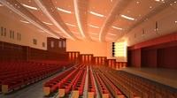 Auditorium room 004 3D Model