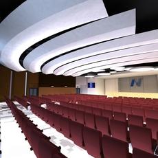 Auditorium room 007 3D Model