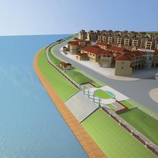 Architecture 570 Villa Building 3D Model