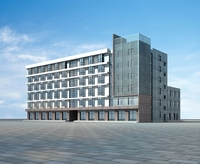 Architecture 576 office Building 3D Model