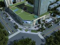 Architecture 580 Mall Building 3D Model