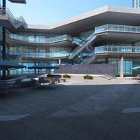 Architecture 584 Commercial Building 3D Model