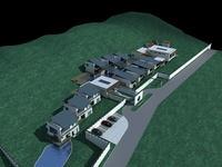 Architecture 593 Villa Building 3D Model