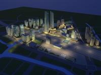 Architecture 614 office Building 3D Model