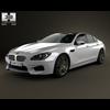 BMW M6 Gran Coupe (F06) 2013 3D Model